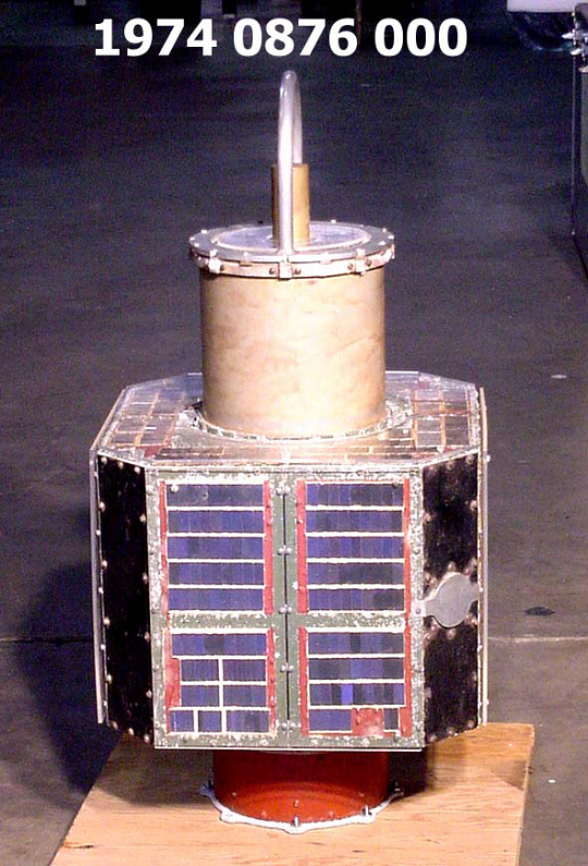 Satellite, Explorer S-46, Payload Model