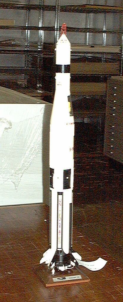 Model, Rocket, Saturn IB, 1:96