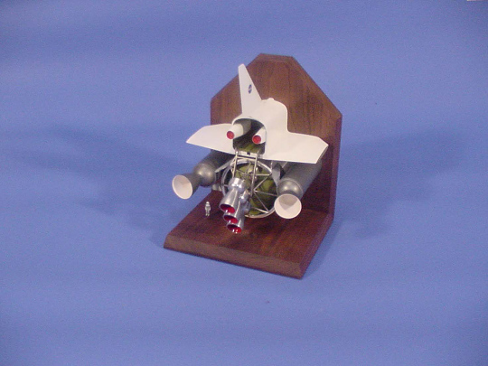 Model, Space Shuttle, Swing Engine Concept, 1:100