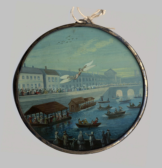 Restif de la Bretonne's 1742 Flying Man
