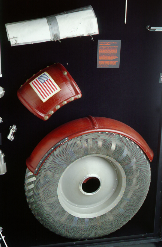 Maps, Fender Extension, Lunar Roving Vehicle, Apollo 17, Mockup