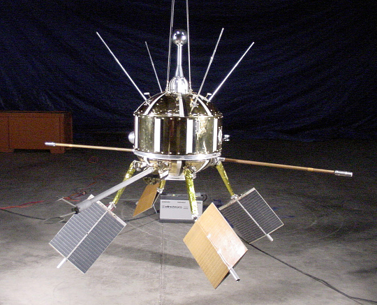Satellite, Ariel I, Reconstructed Satellite