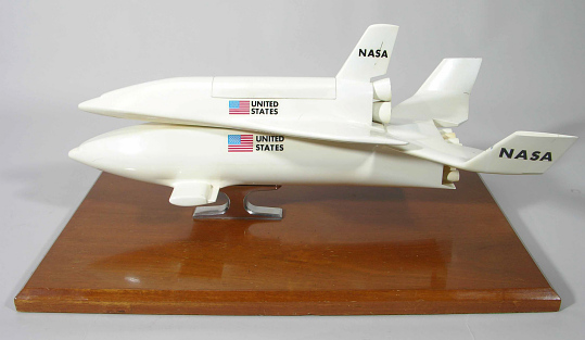 Model, Space Shuttle, McDonnell Douglas / Martin Marietta Reusable Concept, 1:80