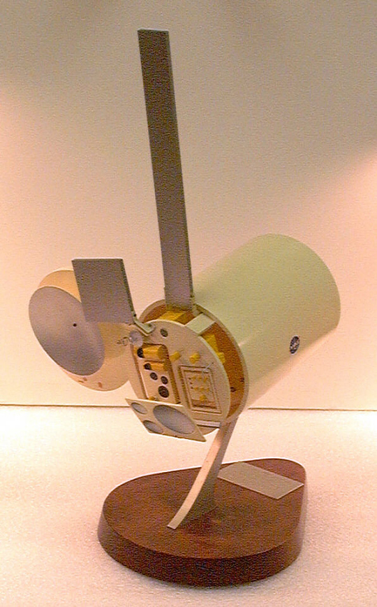 Model, Remote Sensing Satellite, Earth Survey Module