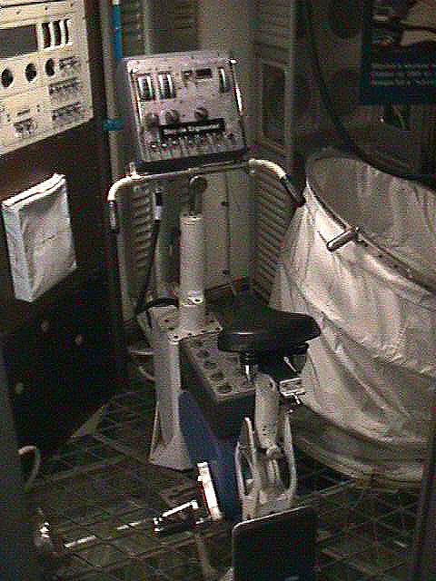 Bicycle Ergometer, Skylab