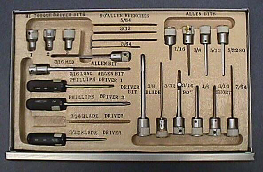 Tray 1B, Tool Kit #1, Skylab