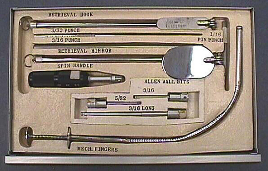 Tray 1E, Tool Kit #1, Skylab