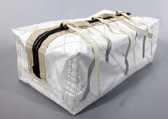 Bag, Lunar Sample Container Decontamination, Apollo 15