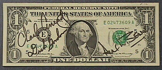 One Dollar Bill, Apollo 12