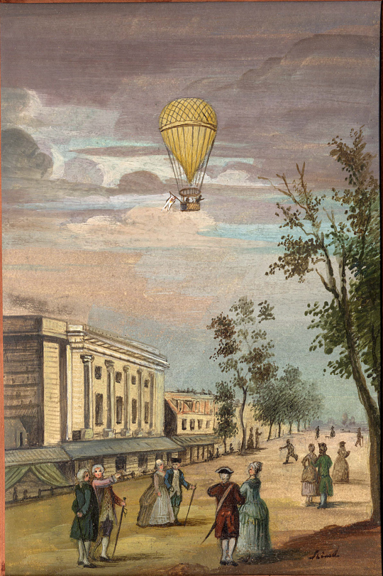 Early Balloon Ascension