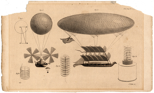 Sir George Cayley's Projected Balloon, 1816