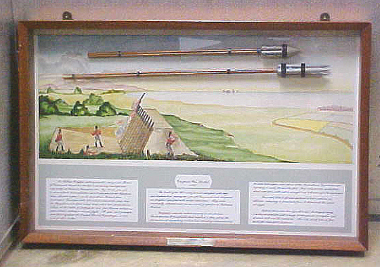 Models, Rockets, Congreve, Two, in Framed Case