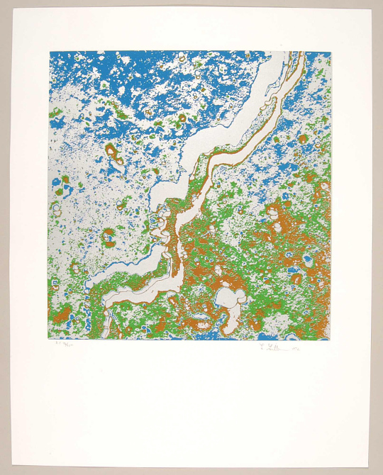 Print, Serigraph on Paper