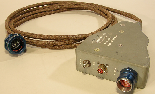 Cable, Television Hook-Up, Apollo-Soyuz Test Project, Back-up
