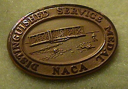 Pin, Lapel, Distinguished Service, National Advisory Committee on Aeronautics