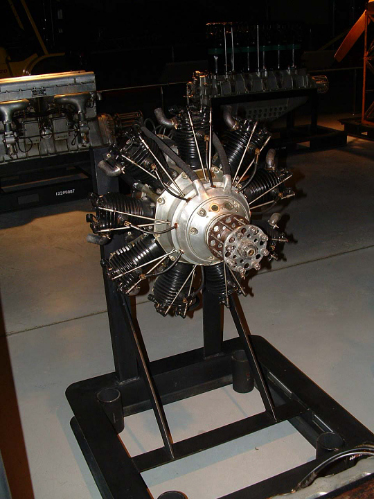 Salmson 9AD Radial Engine