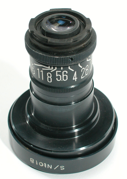 Lens, 5mm, Data Acquisition Camera, Apollo 11
