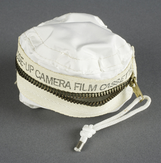 Bag, Decontamination, Cassette, Close-up Camera, Lunar Surface, Apollo 11