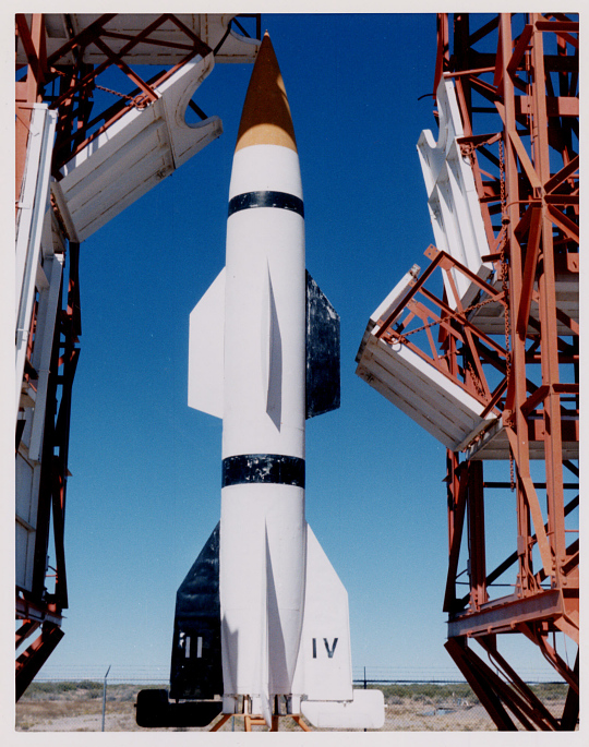 Missile, Surface-to-Surface, Hermes A-1, Experimental