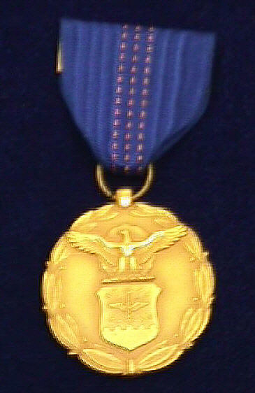 Medal, Exceptional Civilian Service, U.S. Air Force, 1960, Charles S. Draper