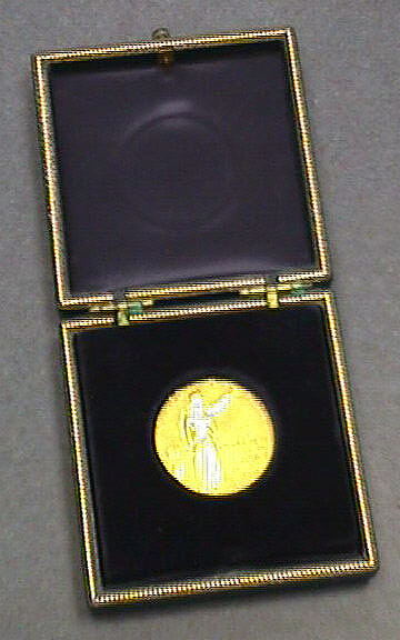 Medal, Howard N. Potts, The Franklin Institute, 1960, Charles Draper