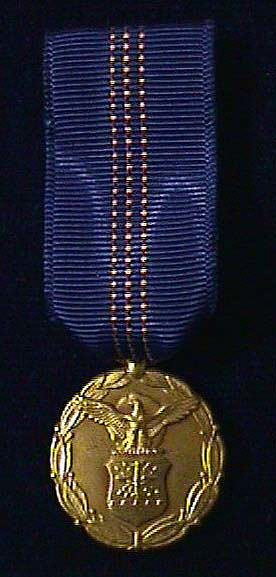 Medal, Small, Exceptional Civilian Service, U.S. Air Force, 1969, C. S. Draper
