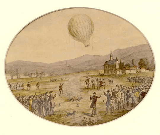 Two Ballooning Events