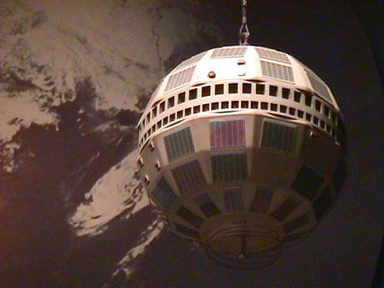 Model, Communications Satellite, Telstar