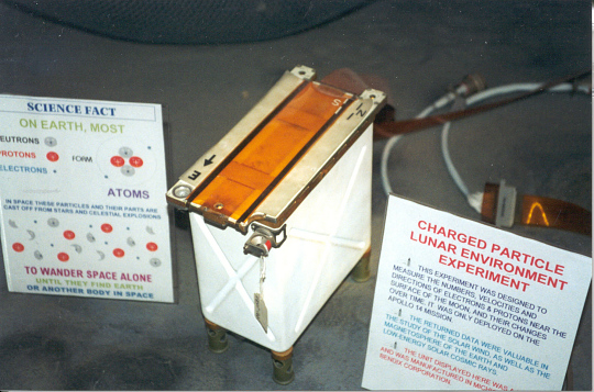 ALSEP, Charged Particle Lunar Environment Experiment