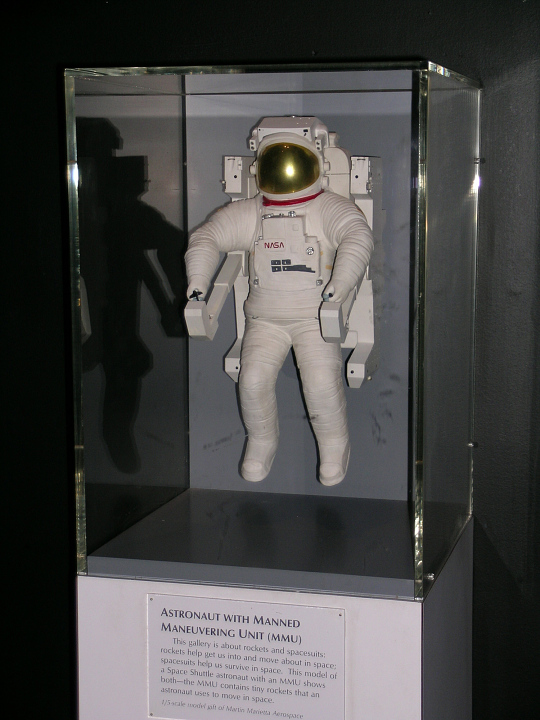 Model, Astronaut with Manned Maneuvering Unit, 1:5