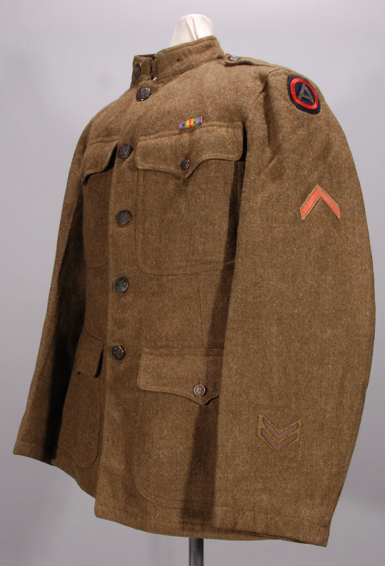 Coat, Service, Officer, United States Army
