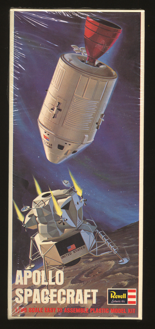 Model Kit, Apollo Spacecraft, 1/96
