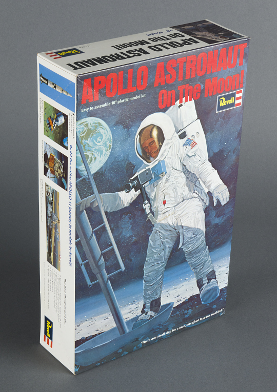 Model, Apollo Astronaut on Moon