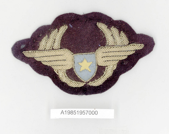 Badge, Cap, Air Congo