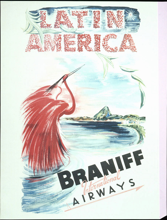 Braniff International Airways Latin America