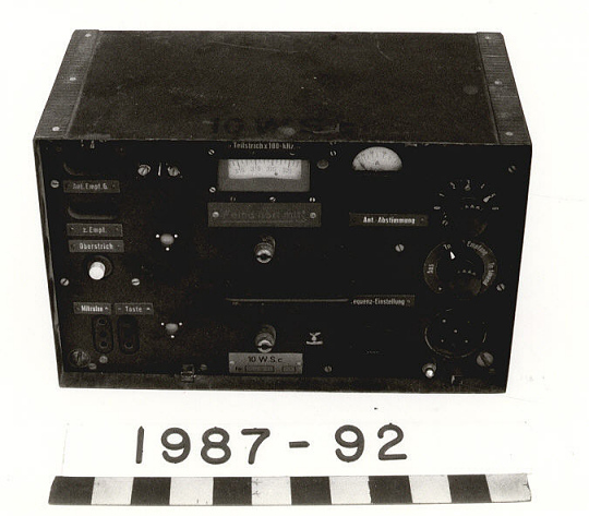 Transmitter, Radio, German