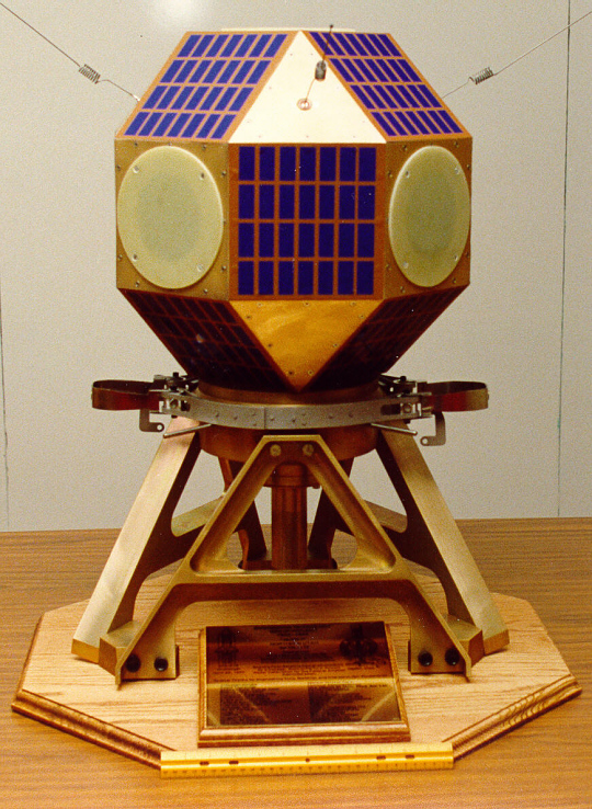 Model, NUSAT 1 Satellite