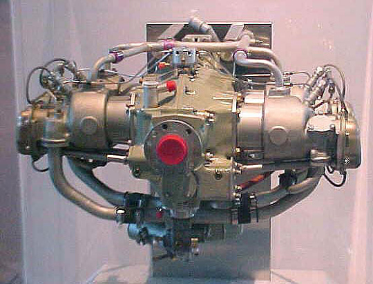 Teledyne Continental Motors Voyager-200 Horizontally-opposed Engine