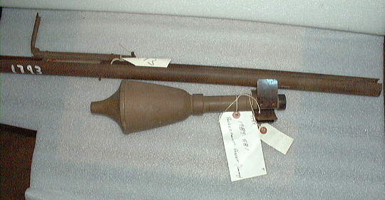 Grenade, Anti-Tank, Panzerfaust Klein, Launcher and Dummy Projectile