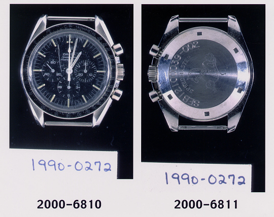 Chronograph, Collins, Apollo 11