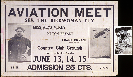 Aviation Meet See the Birdwoman Fly