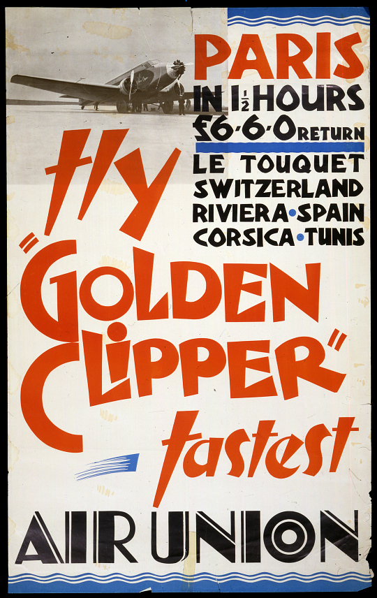 "Air Union Fly ""Golden Clipper"""