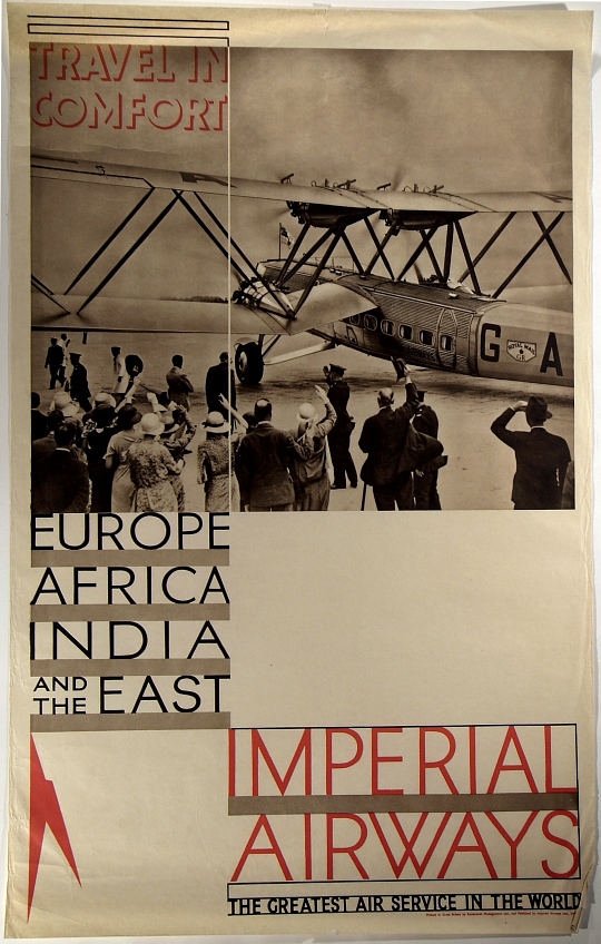 Imperial Airways Travel in Comfort