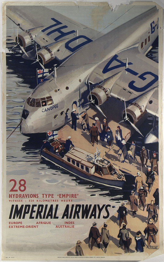 "Imperial Airways 28 Hydravions Type ""Empire"""