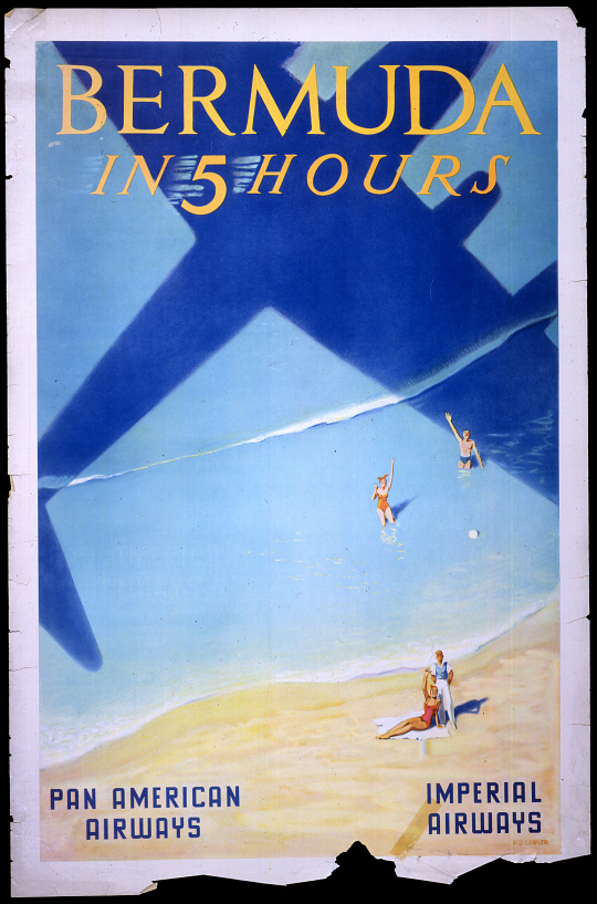 Imperial Airways Bermuda in 5 Hours