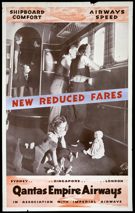 Quantas Empire Airways New Reduced Fares
