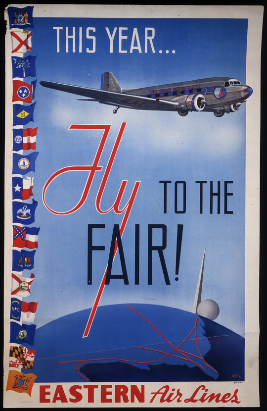 Eastern Airlines This Year... Fly to the Fair!