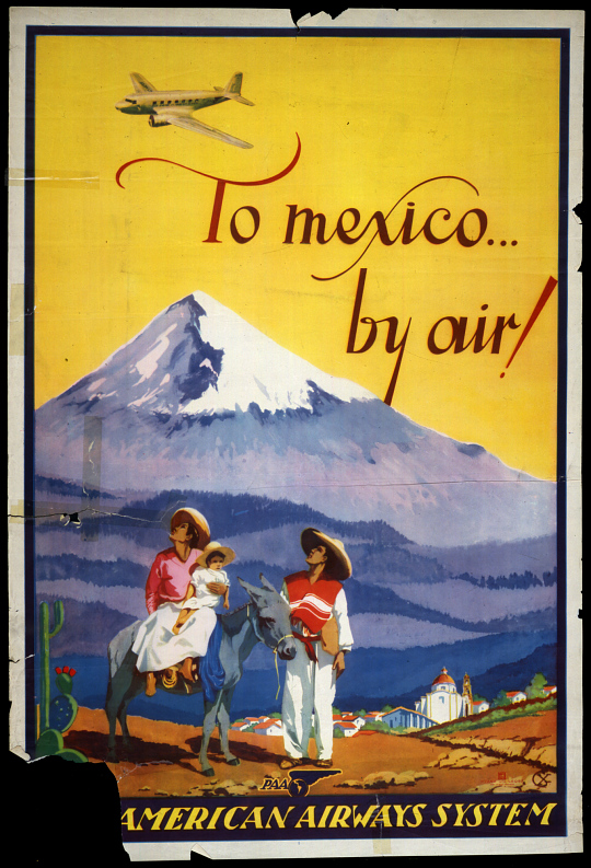 To Mexico By Air American Airways System