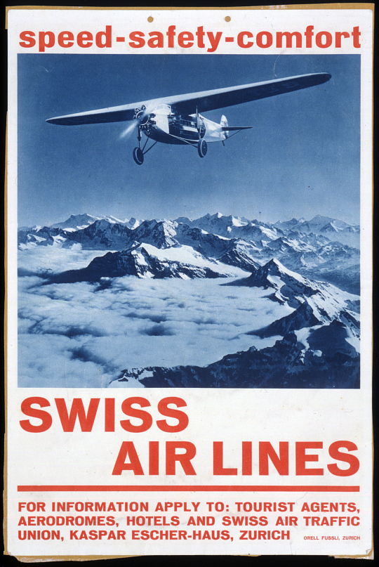 Swiss Air Lines Speed Safety Comfort