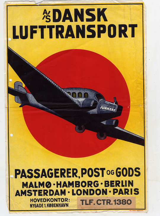 A/S Dansk Lufttransport Passagerer, Post, og Gods